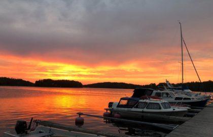 На лодке по Финляндии
